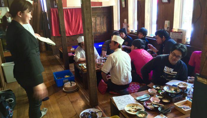 4月コースの試食会(熊本)